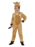 Giraffe 2-tlg 104-152 Kostüm Kinder Giraffen Tierkostüm NEU Kinderkostüm Gr
