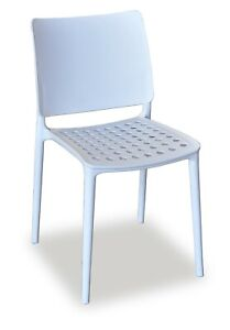 4x Holey Chair - White - Perfect For Outdoor Dining