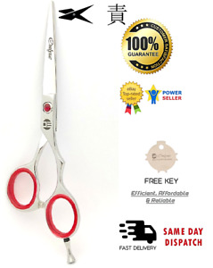 "5.5""Professional Hair Barber Scissors J2  steel Hollow Ground Blades Extra sharp"