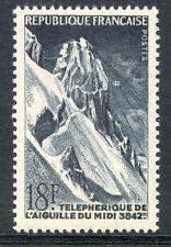 STAMP / TIMBRE FRANCE NEUF N° 1079 ** TELEPHERIQUE DE L'AIGUILLE DU MIDI