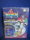 Vintage+1984+Robot+Voltron+Transformer+Battle+Riser+Motorized+Bump+action+NIB