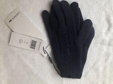 ORIG. Lacoste invierno lana señora guantes Gloves azul oscuro nuevo s