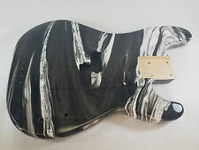 Replacement Multicolor Swirl P bass guitar body - fits fender necks P196