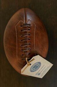 Retro Reborn Real Leather American Football