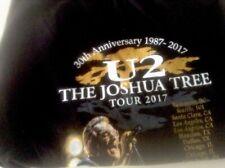 U2 2017 Joshua Tree Concert T- Shirt Xlarge
