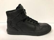 Supra Vaider Men's Skateboard Hi Top Sneaker-Black, Size 6M.