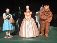 In Character Wizard Of Oz Characters Dorothy, Glinda, TinMan, Lion, Witch
