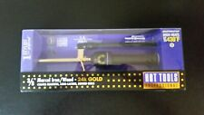 "HOT TOOLS Professional 3/8"" Gold Marcel Iron/Wand for Long Lasting Results 1106"