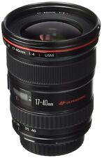 Canon EF 17-40mm f/4 L USM Ultra Wide Angle Zoom Lens w Kenko Digital Filter 77m