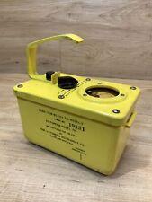 Civil Defense Victoreen Instrument Co Cdv 710 Model 3 Radiological Survey Meter
