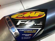 FMF F4.1 SLIP ON TITANIUM EXHAUST KAWASAKI KX450F 09-13