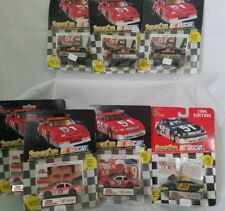 Chad Little lot of 7 Cars Racing Champions Nascar 66, 19, 23, 9 with card