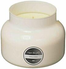 Capri Blue Signature Volcano Jar Candle, White, 19 oz