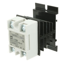 SSR-40DD 40A DC3-32V to DC5-60V Solid State Relay + Heat Sink + Thermal Compound