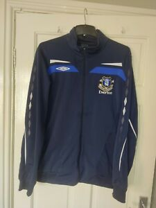 Everton tracksuit top vgc  size XL men's with pockets.