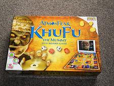 ATMOSFEAR KHUFU THE MUMMY : DVD BOARD GAME - IN VGC (FREE UK P&P)