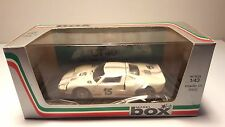 MODEL BOX FORD GT 40 LE MANS 66 8456 WHITE 1:43 SCALE NEW IN BOX