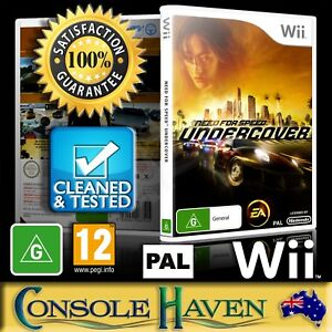 (Wii Game) Need For Speed: Undercover / NFS: Under Cover (G) (Racing) PAL