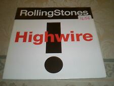 ROLLING STONES - HIGHWIRE = WITH URBAN JUNGLE TOUR TICKET CELLOTAPE ON SLEEVE