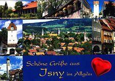 Isny im Allgäu , Ansichtskarte , 2008 gelaufen