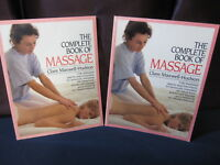 The Complete Book of Massage: Set of 2 - Includes Shipping!!