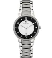 Danish Design IV64Q1018 Black/Silver Dial Titanium Quartz Sapphire Women's Watch