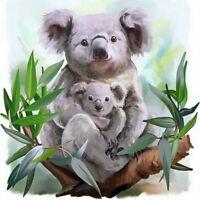 5D Full Drill Diamond Painting Embroidery Koala Cross Stitch Kits Home Art Mural
