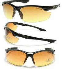 Xloop Hd Vision High Definition Anti Glare Lens Sunglasses Wrap Semi Rimless