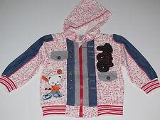 BNWOT Baby Morning boy or girl zip up baseball bear lightweight jacket size 0