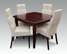 Table+4 Chairs Set Sets Complete Living Room Dining Room Extendable 250cm