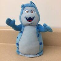 "Beat Bugs Netflix Walter 8"" Plush Stuffed Animal Toy Blue EUC AR179"