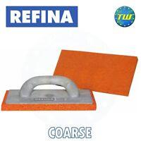 Orange Plasterers Rubber Foam Sponge Float Trowel Medium 280mm X140mm UK STOCK
