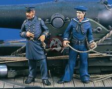 Verlinden 54mm (1/32) US Navy Officer and Seaman in Civil War (2 Figures) 1554