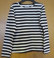 Mädchen Shirt schwarz/weiß Gr. 158/164 C&A neuwertig