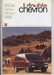 (156A) CITROEN Le double chevron N°6 été 1994