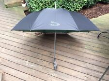 NWT JAGUAR FRAGRANCE BLACK TURQUOISE UMBRELLA, VERY NICE...
