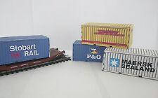 00 gauge Model Railway Containers