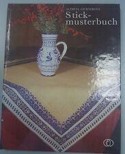 Stickmusterbuch /A. Lichnerova / Sticken Vorlagen Muster/Hohlnaht Froschaugen...