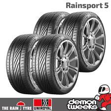 4 x Uniroyal RainSport 5 Performance Road Tyres - 225 45 17 91Y