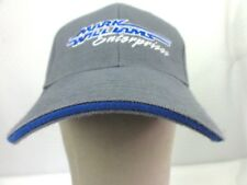 MACK WILLIAMS ENTERPRISE Cap Gray Blue Hook & Felt 100% Cotton Customs Hats