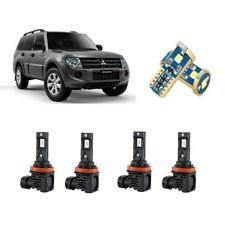 For Mitsubishi Pajero 2008-2020 6Pcs Upgrade Led Hi/Low Beam LED Conversion Kit