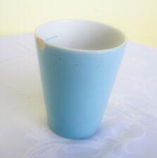 Lilienporzellan Daisy Kakaobecher 25 blau mit Eichstrich braun gemarkt Nachlass