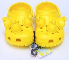 NEW Peeps X Crocs Yellow Marshmallow Peeps Classic Clog Slip On Shoe Sandal