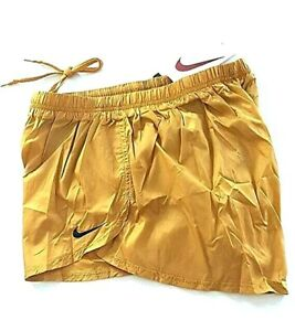 NIKE PRO ELITE RUNNING SHORTS GOLD ATHLETE ISSUE RACE TRACK FIELD OLYMPIC XXL