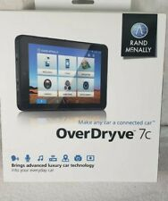 Rand McNally OverDryve 7c Portable Vehicle GPS Unit Navigation with Dash Cam NEW