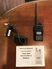 Vertex Standard Air Band Transceiver Vxa-300/Pilot Iii