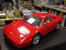 Mira 61014 Ferrari 348 TB Red 1/18 Scale Die-Cast Car. Very Good Condition.