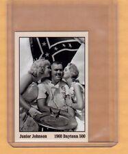 Junior Johnson, '60 Daytona 500 Winners Circle card #2 Chevy early NASCAR