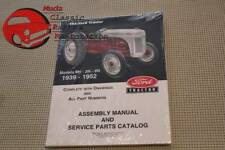 Ford Tractor 8N/9N/2N Assembly Manual Service Parts Catalog 1939-52