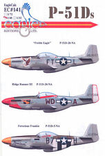 EagleCals Decals 1/48 NORTH AMERICAN P-51D MUSTANG Fighter